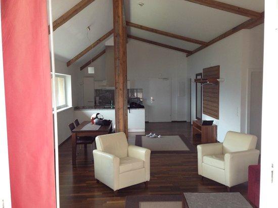 Der Sonnberg: Living room, kitchen