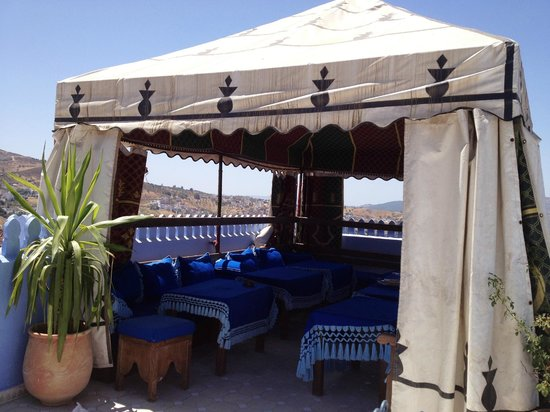 Hotel Dar Mounir: On the rooftop terrace