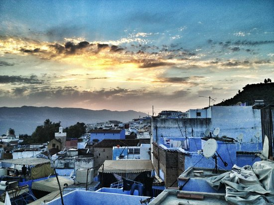 Hotel Dar Mounir: View from the rooftop terrace