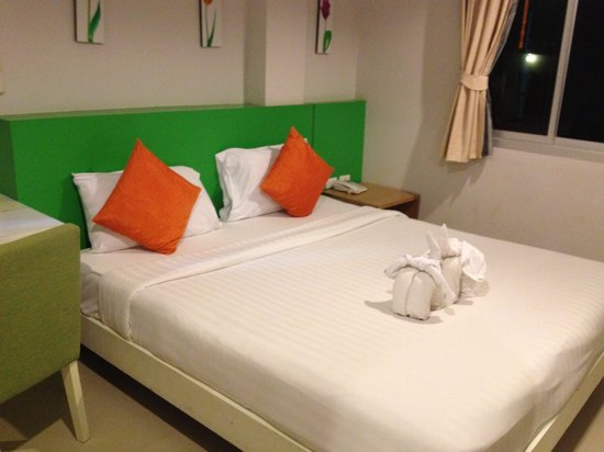 Baramee Hip Hotel Patong : お部屋