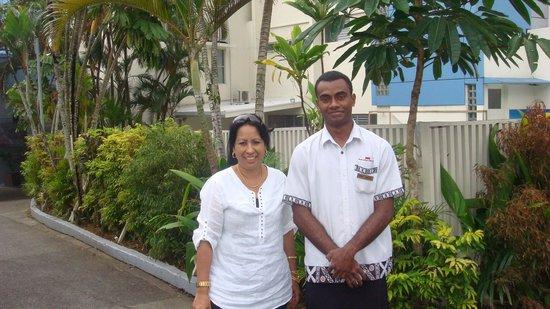 Tanoa Plaza Suva : Respectful staff