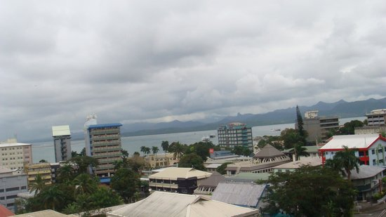 Tanoa Plaza Suva : great views