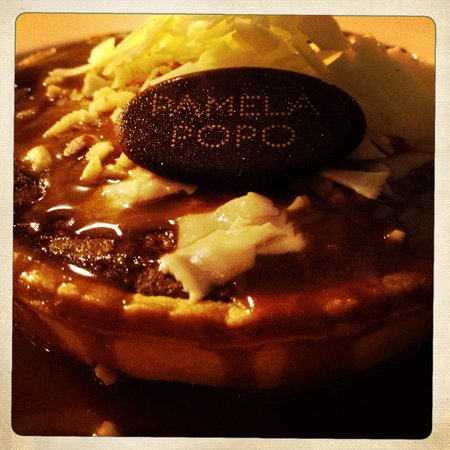 Pamela Popo delicious dessert