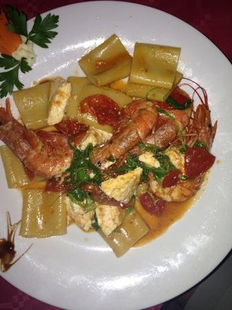 Nice pasta with sea food picture of bagno la vela - Bagno la vela marina di grosseto ...