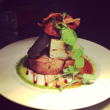 The Boot Inn: Special pork belly ����