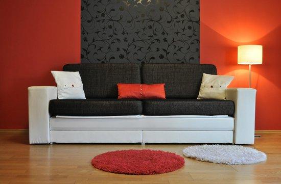 Senator Apartments Budapest: Living room