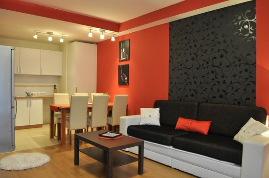 Senator Apartments Budapest: Dining area