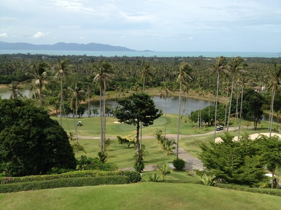 Santiburi Beach Resort & Spa : golf