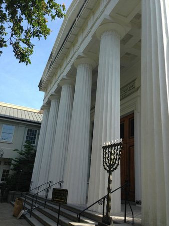 Kahal Kadosh Beth Elohim : Front of Temple