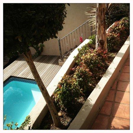 ألتا باي: patio of Bay Suite