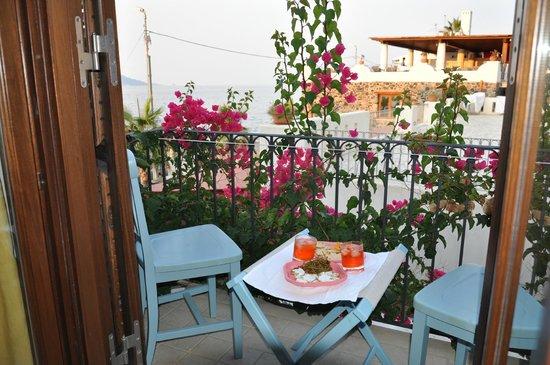 Hotel Residence Acquacalda: aperitivo in balcone ( self made! )