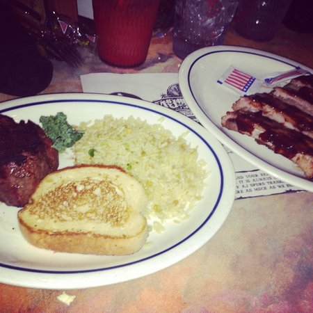 A J Spurs Saloon & Dining: Delicious