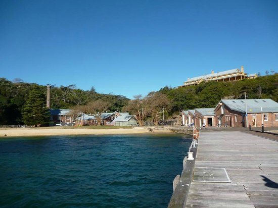 Manly Quarantine Station: Q Station from the jetty.