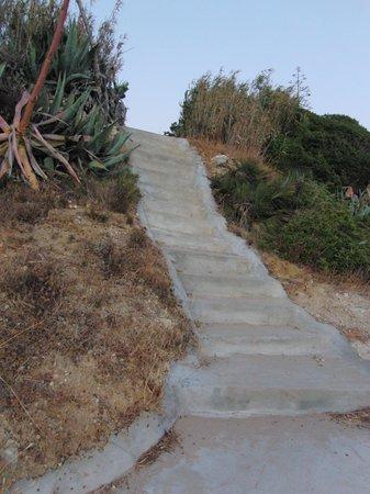 Clube Porto Mos: Treppe zum Strand
