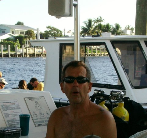 South Florida Diving Headquarters: Dive buddy John Chatterton