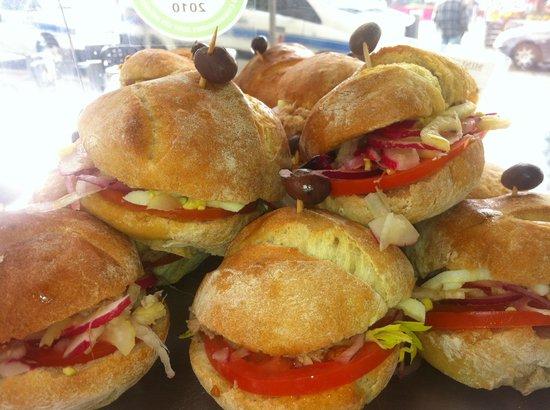 Kiosque TinTin : Mini pan bagnat