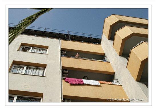 Opus Apart Hotel : Balcony
