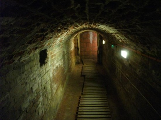 Southsea Castle: The tunnel