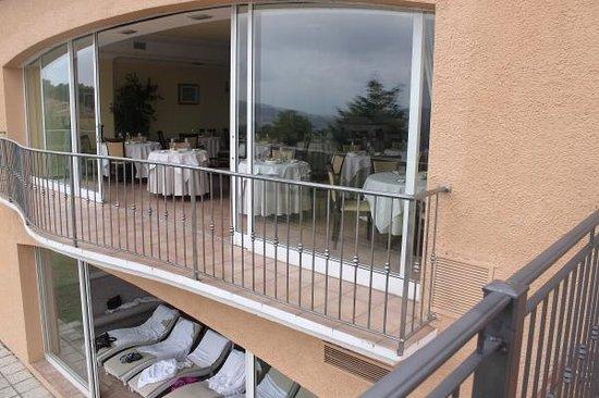 Villa di Carlo Spa&Resort: Vista su parte della SPA