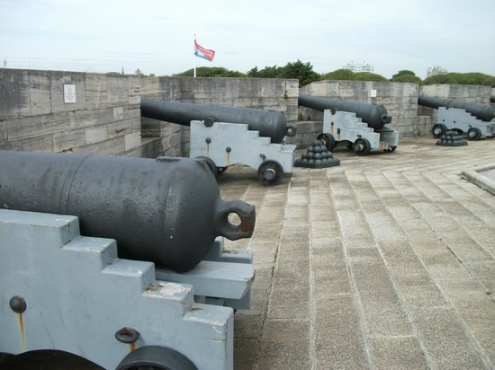 Southsea Castle: Battlements