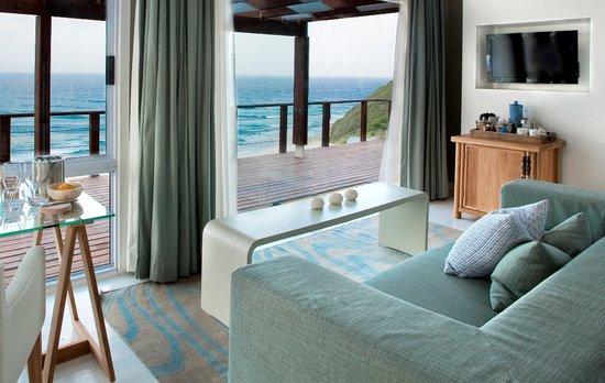 White Pearl Resorts, Ponta Mamoli: Suite Lounge