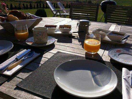 Terres Marines : Petit déjeuner