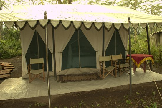 Lakira Camp: My tent