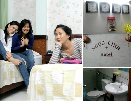 Ngoc Linh Hotel: our room, cery clean
