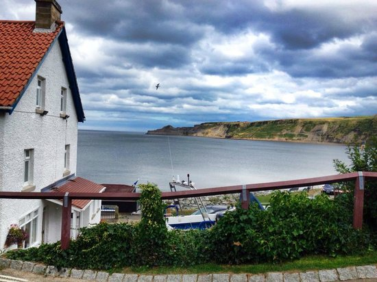 Runswick Bay fishing village