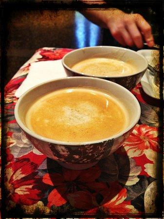 Ca Santo Spirito: Cappuccino at breakfast