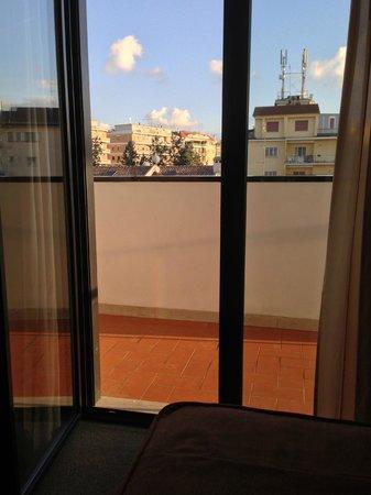 Hotel Sisto V: Vue de la chambre