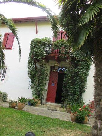 Maison la Croisade : L'entrée de la maison