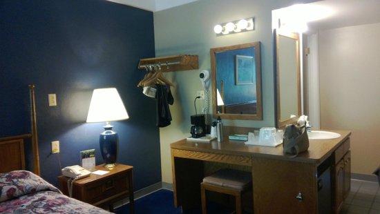 Sidney James Mountain Lodge: Nice room