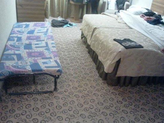Ulemiste Hotel: Habitacion que me dieron