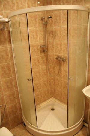Tura Hotel: Ванная комната в бизнес-номере
