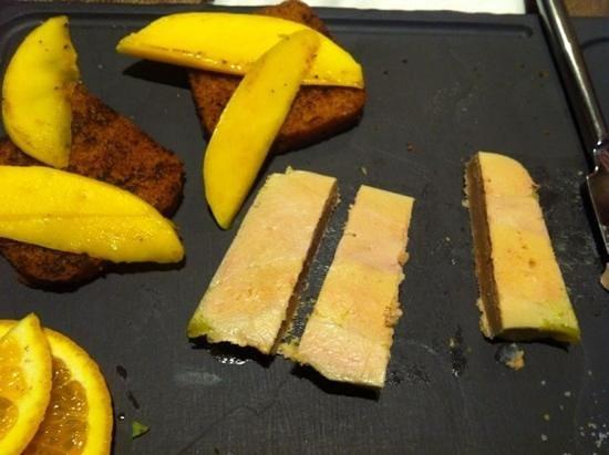 la table des saveurs : foie