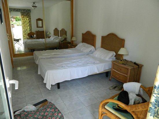 Compostela Beach Golf Club: Спальня