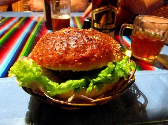 Suo Ya La Zang Restaurant : The Legendary and Tasty YAK BURGER!!!!