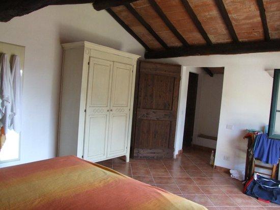 Agriturismo San Ottaviano: la camera matrimoniale