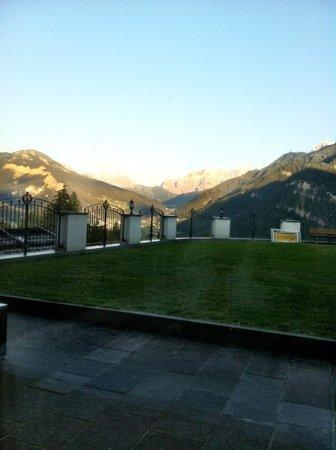 Hotel Scherlin : La vista dalla sala da pranzo...