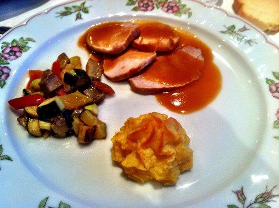 Hotel Scherlin : I piatti deliziosi...