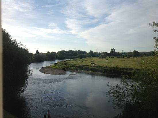 Shardlow, UK: veiw from our room.