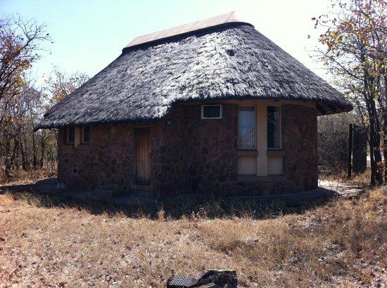 Mopani Rest Camp: Parte trasera del bungalow