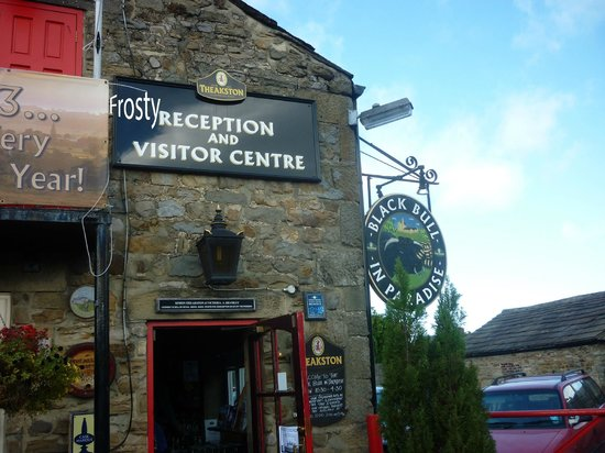 Theakston Brewery: Frosty reception at Theakston's Brewery Visitor Centre