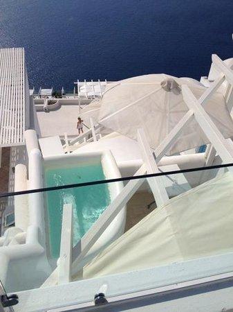 Above Blue Suites: Havean suite desde zona de reposeras