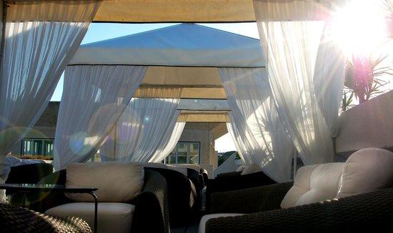 Hotel Puerto Sherry: la terraza