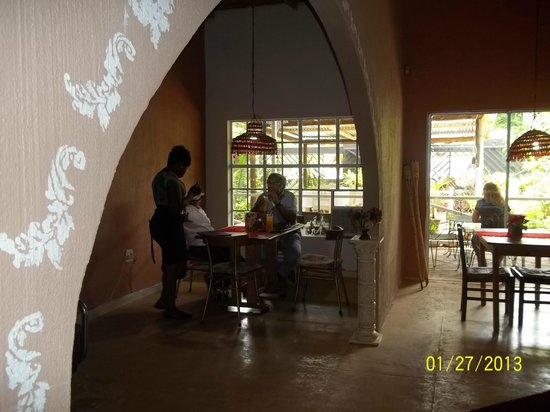 Carpe Diem Restaurant: Private corners of indoor dining