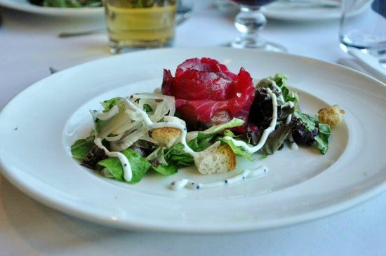 Hotel Kea by Keahotels: Salad at dinner