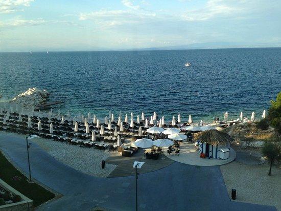 Kempinski Hotel Adriatic Istria Croatia: spiaggia hotel kempinski