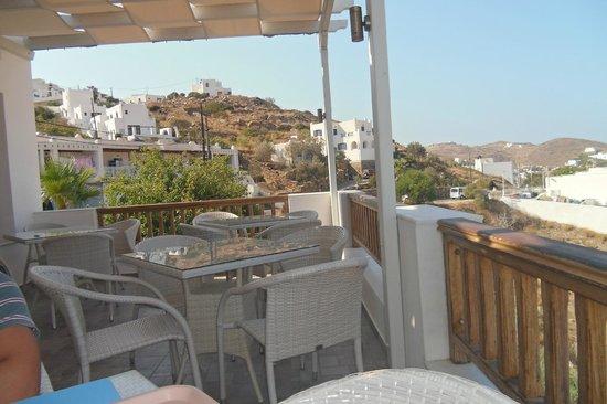 Homer's Inn Hotel : Panorama dal terrazzo della colazione (1)